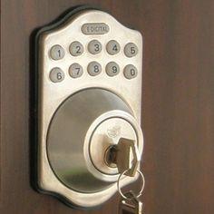 New Locks For The Home Pinterest Electronic Deadbolt