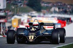 Osterreichring , Austria 1982 Elio de Angelis JPS L o t u s 91 W i n n e r !!