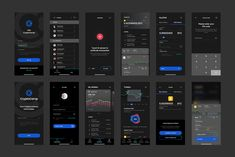 Buy CryptoCamp Mobile UI Kit by idealUI on ThemeForest. CryptoCamp Mobile UI Kit for Sketch CryptoCamp is an iOS UI Kit made to help in your financial app development proces. Android App Design, App Ui Design, Dashboard App, Ios Ui, Mobile Ui Design, Ui Inspiration, Ui Kit, App Development, Blockchain