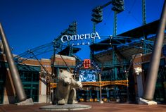 Comerica Park - Detroit. One of my dates with my man, 6 weeks ago for his bday!