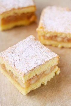 Jabłecznik Cheesecakes, Hungarian Desserts, Cake Recipes, Dessert Recipes, Buttercream Recipe, Pie Cake, Polish Recipes, Food Cakes, Canning Recipes