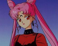 Imagem de sailor moon, anime, and pink Sailor Moons, Sailor Saturn, Sailor Moon Crystal, Sailor Chibi Moon, Sailor Moon Girls, Sailor Moon Aesthetic, Aesthetic Anime, Vintage Anime, Anime Shop