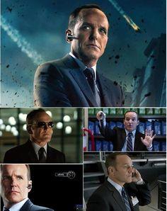 S.H.I.E.L.D.  .... Agent Phil Coulson