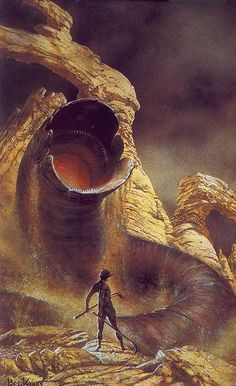 Walk without rhythym (artist unknown) Dune I have enjoyed the books of Dune for years and have always been disappointed that the remainder of the books weren't converted into film.