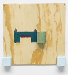 "acrylic on fir plywood, 11"" x 11"" x 1-3/4"" (27.9 cm x 27.9 cm x 4.4 cm), 1999, © Richard Tuttle, courtesy Pace Gallery / Photo by Joerg Lohse"