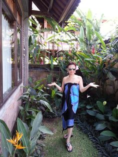 My hotel Sri Bungalow side garden in Ubud