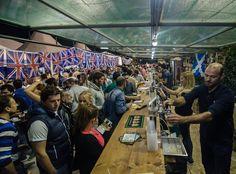 English friends try Corfu beer