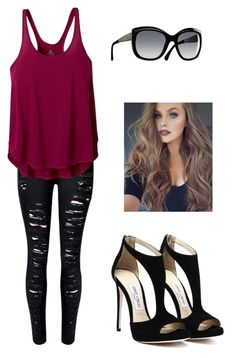 """😂👌"" by shaelia16 ❤ liked on Polyvore featuring prAna and Chanel"