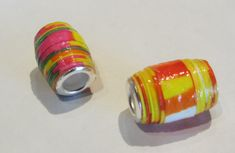 How To Make Paper Beads With Bead Cores Craft Tutorial