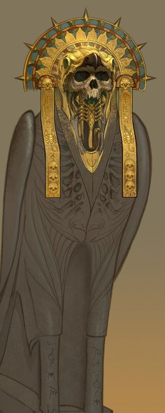 Tomb Kings, illustration by Ted Beargeon