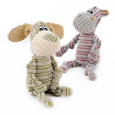 Little Donkey and Pony Stripe Comfort Toy