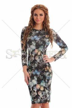 Romantic Spirit Turquoise Dress