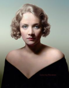 Marlene Dietrich | Marie Magdalene Dietrich 27 Dec, 1901 – 6 May, 1992, a German-American actress and singer