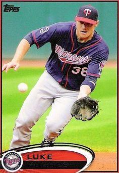 Luke Hughes Minnesota Twins, Mlb, Baseball Cards, Sports, Hs Sports, Sport