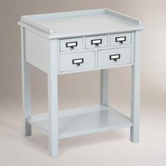 Preston 5-Drawer Table - v2