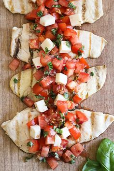 Grilled Chicken Bruschetta Gina's Weight Watcher Recipes  Servings: 4 • Serving Size: 2 cutlets + tomatoes • Points+: 6 • Smart Points: 6 Calories: 237 • Fat: 8.5 g • Protein: 32 g • Carb: 7 g • Fiber: 1 g • Sugar: 0.5 g Sodium: 182.9 mg (without the salt)