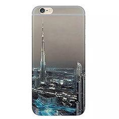 iPhone 6s ケース / iPhone 6 ケース 4.7 inches Vandot 0.5MM 超薄型ライトTPUシリコンバンパー  ハードPC半透明保護 バック ケース[落下防止] [衝撃吸収] 3D HD プリント風景シェル夜景