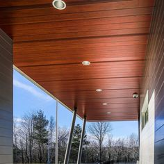 Longboard Modern Aluminum Cladding For Siding And Soffit