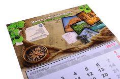 3-Monats-Block-Wandkalender MAXI mit Spiralbindung