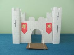 Make a medieval castle out of paper! Its a fun project to do with your child, grandchild, niece, nephew, next door neighbor - any kid you love. You are purchasing two PDF files containing the instructions and the template to make the castle. You will receive the downloads as soon as your