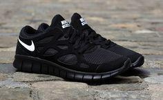 Nike Free Run 2 NSW   Black & White