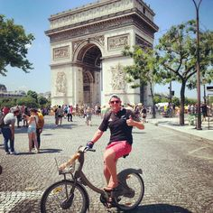 They say Paris is the city of love. Yes, it has a romantic side, with the sparkling lights of the Eiffel Tower, the seductive stare of the Mona Lisa, and the magic of Disneyland. There is plenty to do in France's capital city, but we fell in love with it for a different, more active reason...