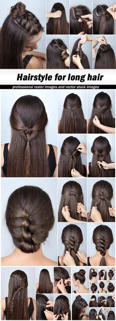 Hairstyle for long hair - 5 UHQ JPEG