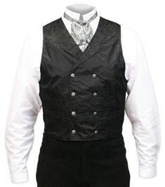 Baker+City+Silk+Vest+-+Black