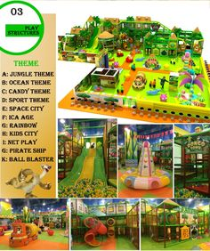 Order indoor playground for your birthday party place-Angel Playground©