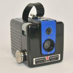 Vintage Kodak Brownie Hawkeye Flash Model Camera