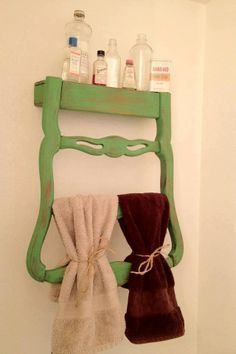Repurposed Ideas for Old Things | Love this idea for repurposing an old chair | Things to make