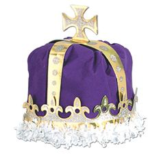 Mardi Gras Inflatable Crown Cooler Mardi Gras Decorations Party Supplies