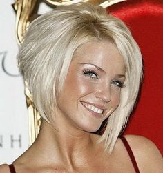 Trendy Angled Bob Hairstyle