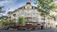 Small Luxury Hotel Ambassador Zürich - Old Town Open Hotel, Lake Zurich, Best Boutique Hotels, Small Luxury Hotels, Das Hotel, City Break, Building Design, Street View, Mansions