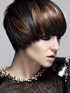 Other haircut with this color  ( refer to black with red highlight)