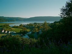 L'Anse-Saint-Jean Lac Saint Jean, Saints, River, Mountains, Nature, Outdoor, Outdoors, Naturaleza, Outdoor Games