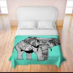 ELEPHANT BEDSPREAD