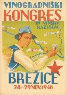Vinogradniški kongres in vinska razstava, Brežice,  28. - 29. nov. 1948