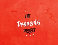 The Proverbs Project by Michael Masinga, via Behance