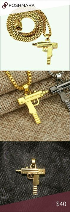 ??Supreme LiL' Uzi chain This is purchased by order limited amount. Supreme Accessories Jewelry