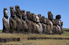 I Moai e la fine di Rapa Nui - IvanPerciballi.com