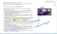 Microsoft OneNote Blog - Top 10 things you didn't know about OneNote