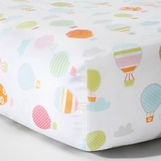Circo™ Woven Fitted Crib Sheet - Balloon Ride