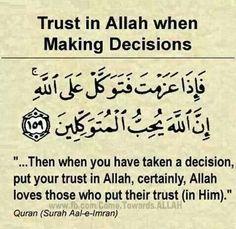 .Trust in Allah ..... #mdkush