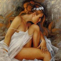 Arthur Braginsky Art - Ballerina  by Arthur Braginsky