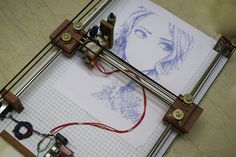How to Make an Arduino Drawing Machine?-How to Make an Arduino Drawing Machine? How to Make an Arduino Drawing Machine? Arduino Cnc, Cnc Router, Arduino Programming, Hobby Electronics, Electronics Projects, Apple Tv, Nouveaux Gadgets, Cnc Software, Drawing Machine