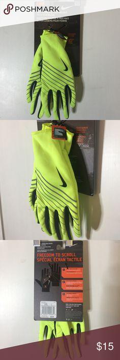 Nike Women's Lightweight tech run glove Nike Women's Lightweight tech run glove. Size: Small. Touch screen compatible fingerprints. Brand New. NO TRADES. Nike Accessories Gloves & Mittens
