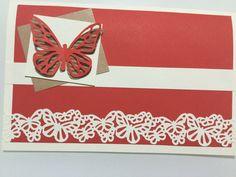 Birthday paper card (scrapbook)