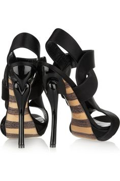 Georgina Goodman Nancy satin sandals