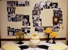 50th anniversary decorations - Buscar con Google                                                                                                                                                                                 Más